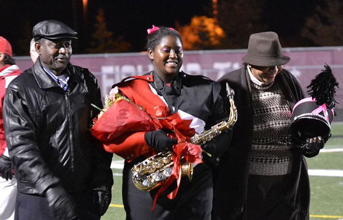Students honored on Senior Night
