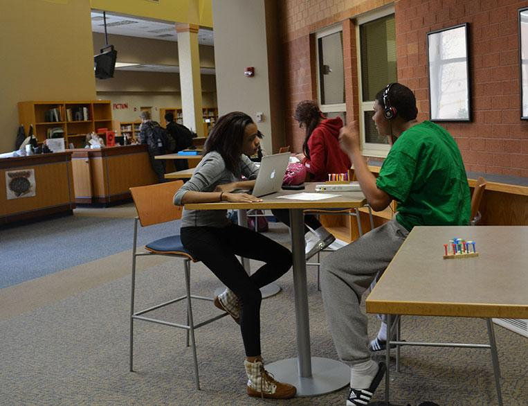 Media center re-organizes to welcome more students