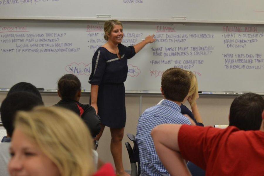FHS welcomes English teacher Goss