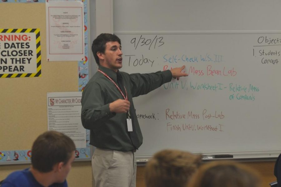 Richard Henry begins first year at FHS