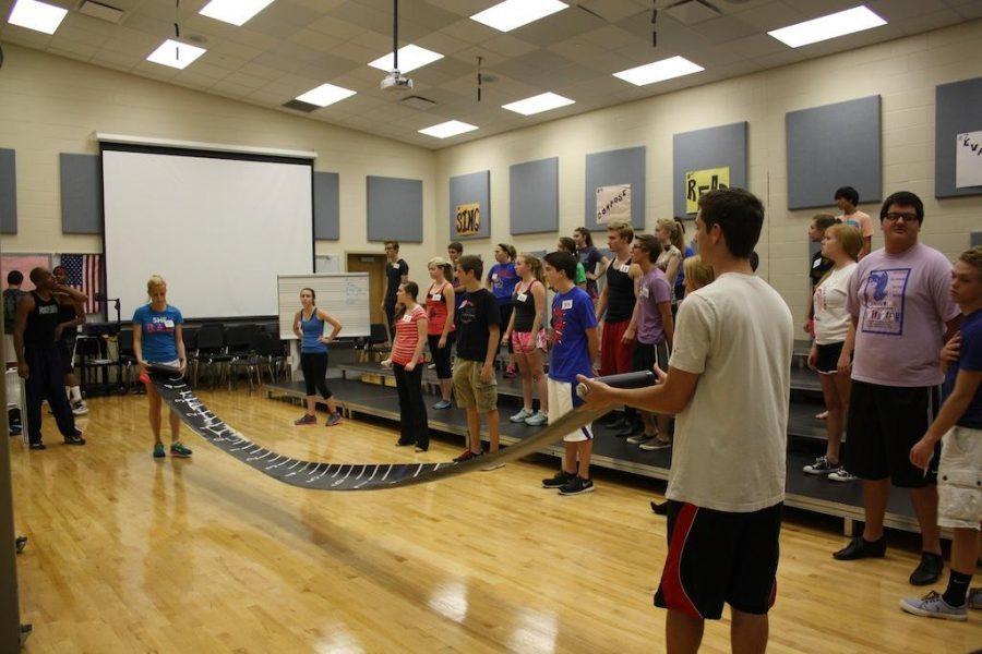 FHS holds show choir clinic for grades K-8