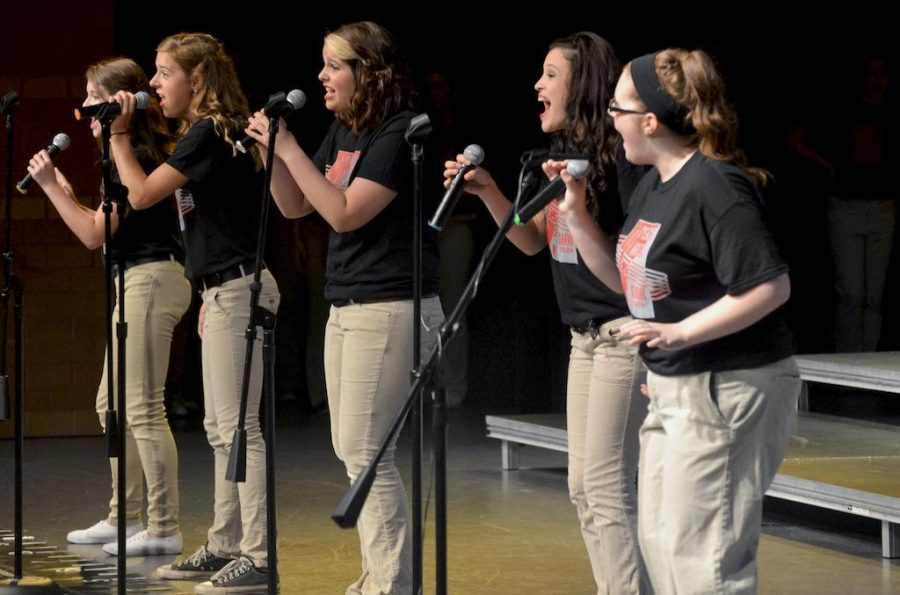 Performing arts fall concert shined bright