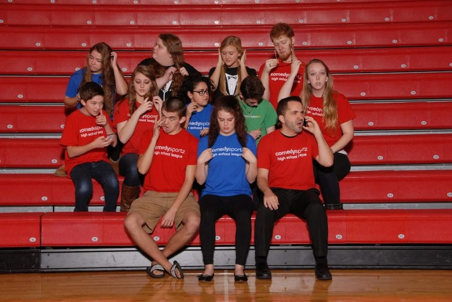 ComedySportz is interactive competitive performance