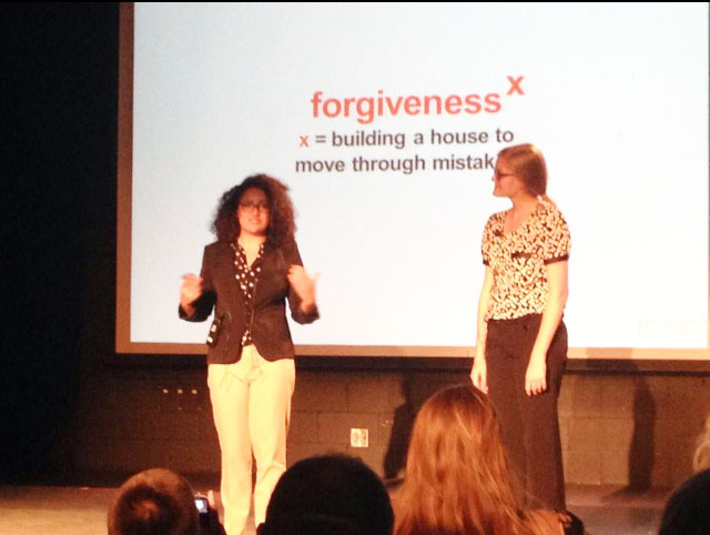 TEDx talk hits close to home