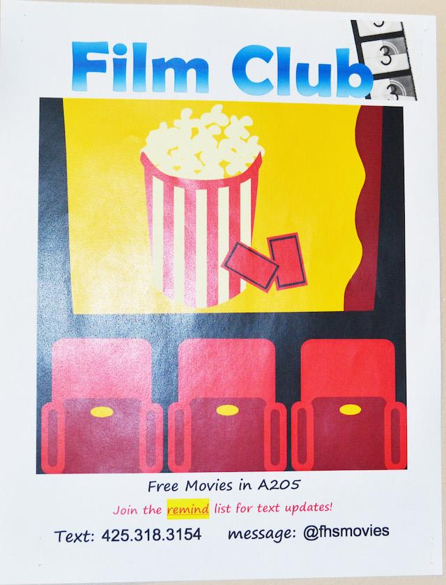 Film Club introduces students to new movies