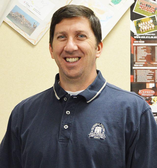 Introducing Scott Bodnar to the teaching staff