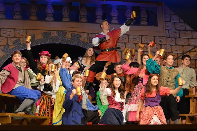 Beauty and the Beast takes the stage