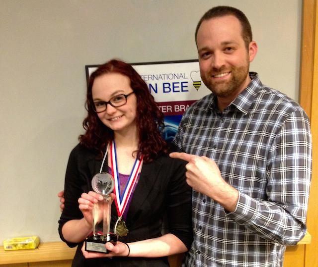 Senior Michaela Breach places at National Brain Bee