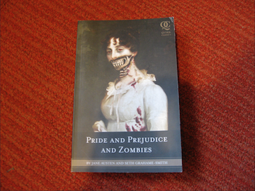 Before Pride and Prejudice and Zombies was made into a film, it was a book written by Seth Grahame-Smith. Photo courtesy of Rebecca Siegelhttps://creativecommons.org/licenses/by/2.0/.