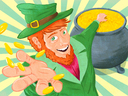 Leprechauns are typically associated with St. Patricks Day.