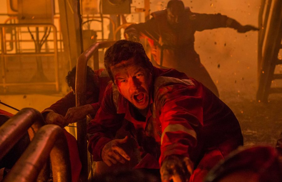 Mark Wahlburg stars as Mike Williams one of the original crew members aboard the Deepwater Horizon oil rig. Photo Courtesy of Tribune News Service.