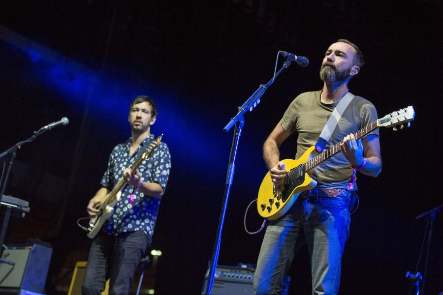 Yuuki Matthews and James Mercer of The Shins perform live Sept. 23, 2016 at the Life Is Beautiful Music Festival in Las Vegas, Nev.