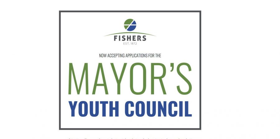 Official flyer used for the recruitment of Mayors Youth Council delivered to interested student. Photo used with permission of Casey Cawthon.