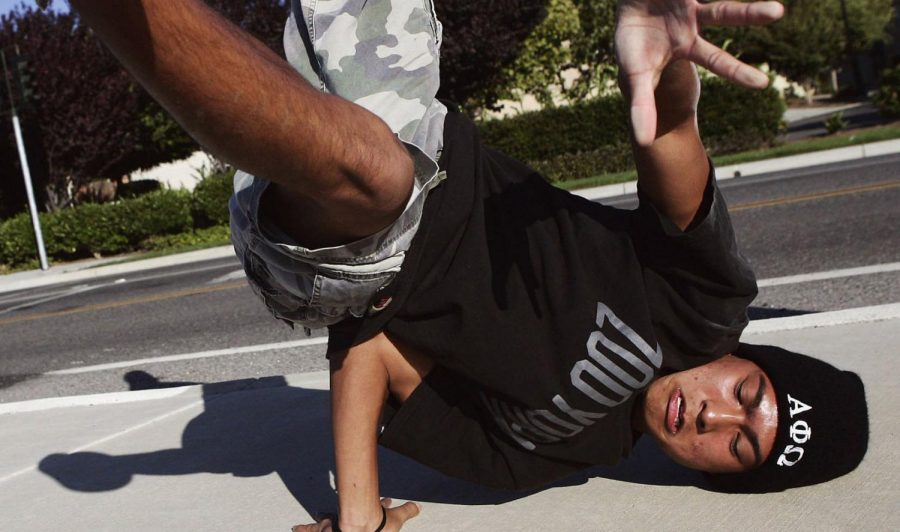 A K-Pop breakdancer from California, where K-Pop has seen its most prevalent rise, practices his moves. Photo used with permission of Tribune News Service.