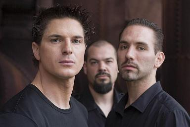 Paranormal investigators Nick Groff (who has his own show now), Aaron Goodwin, and Zak Bagans pose for a promo photo. Photo used with permission from Qlmuktls on Flickr.