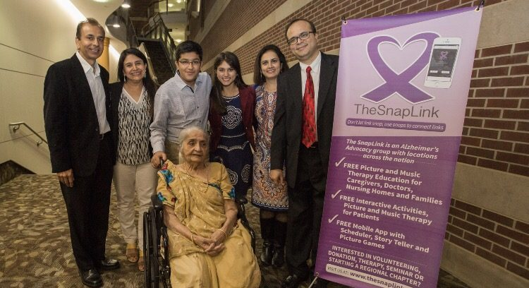 Junior Rahil Thanawala and his family attend the 2016 seminar which announced the launch of the SnapLink Mobile App. Photo used with permission of Rahil Thanawala.