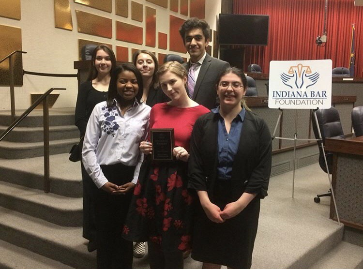 Last year, one of the teams of students became regional finalists when they competed at the Indianapolis City-County Building on Feb. 17.