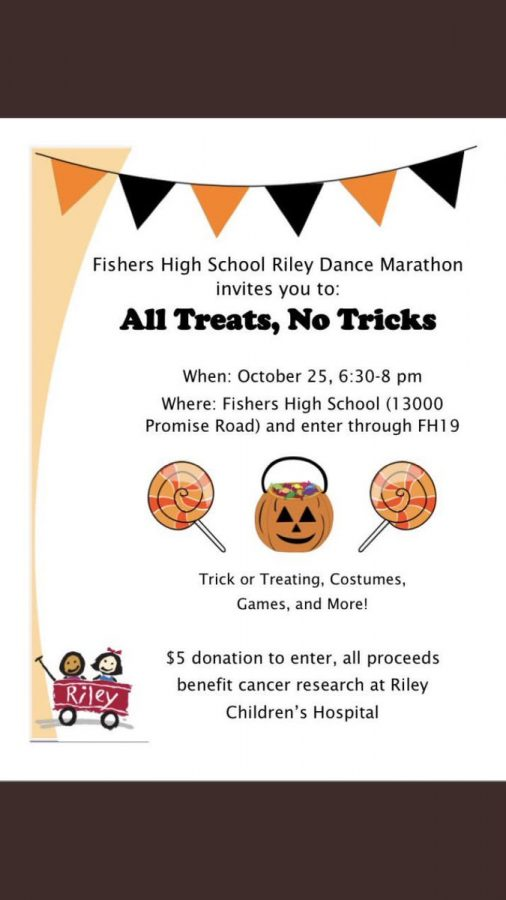 All Tricks, No Treats is open to all parents and children across the community, giving them the chance to be acquainted with FHS students and staff as well as see some of the campus.