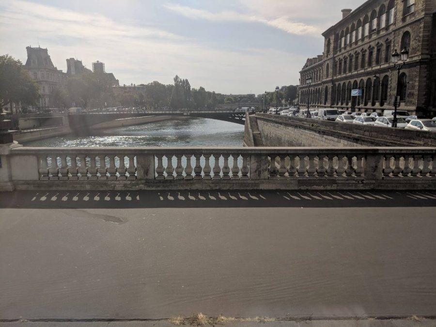 Sunlight gleams off Rue de Rivoli in Paris, France this summer during the school trip accompanied by Jon Colby, one of the stops sophomore Maggie Schmitt will take on her trip to Paris.