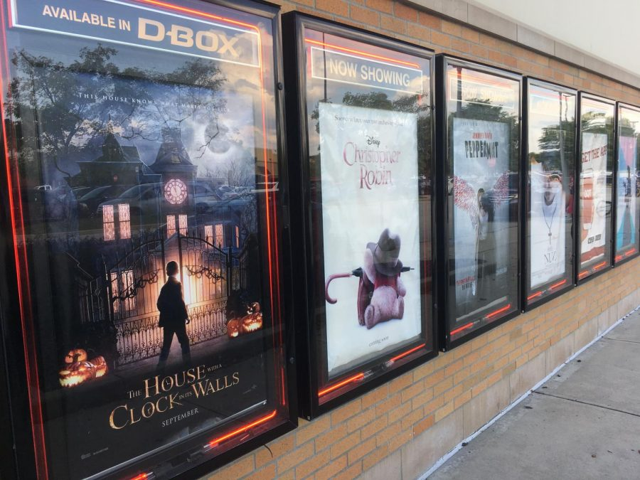 IMAX at Hamilton Town Center has showtimes for many animated movies such as Christopher Robin.