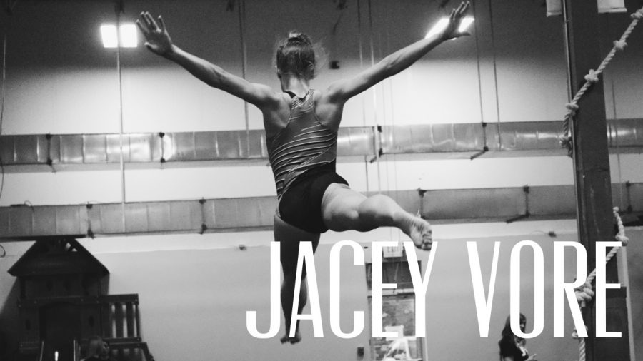 Spotlight: Jacey Vore lays down tumbling skills