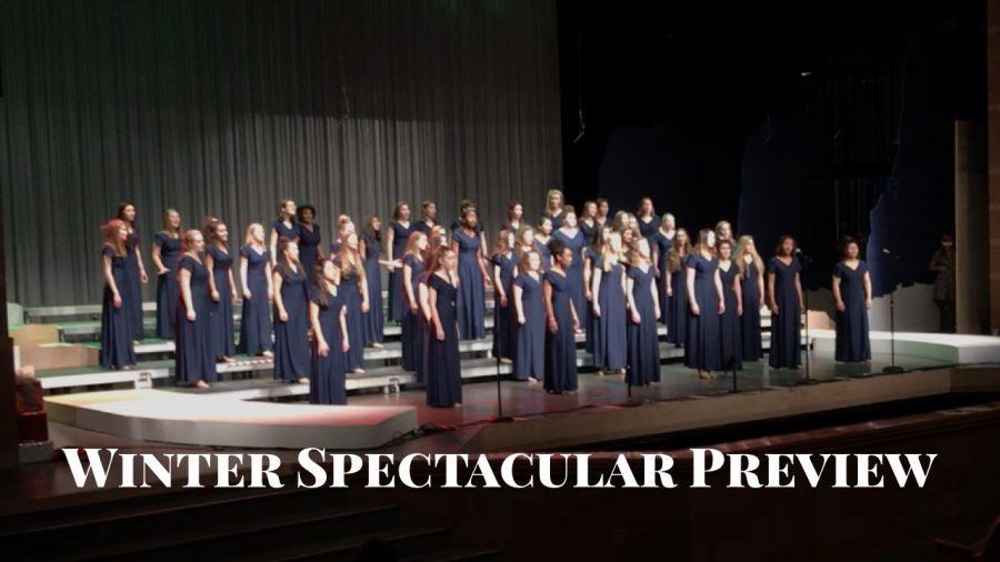 Choirs unite in upcoming Winter Spectacular