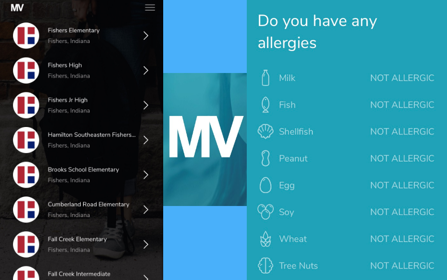 MealViewer provides information on allergies and nutritional values for students and parents to explore. The app shows the menus for every school in the district and allows students to personalize their accounts based on nutritional needs.
