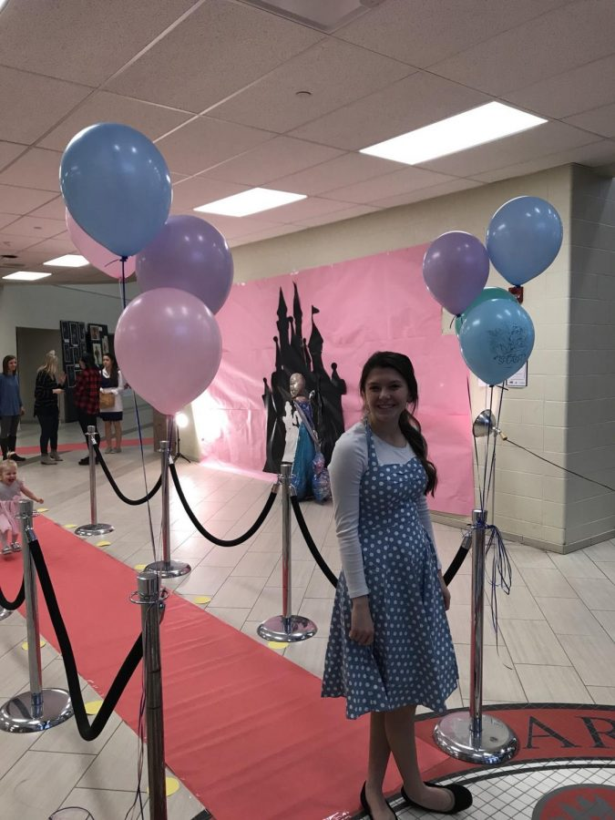 Students+dressed+as+Disney+royals+present+themselves+in+a+decorated+CCA+at+the+first+annual+ball+in+Feb.+of+2017.