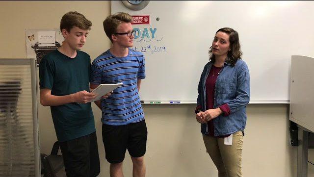 New teachers for year 2019