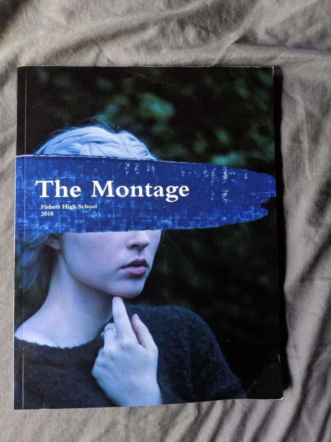 A copy of 2018s Lit Mag The Montage