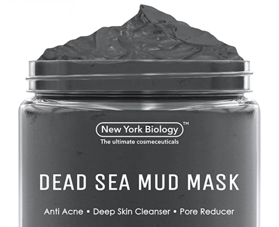 Screenshot of the dead sea mud mask found on Amazon.