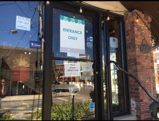 Businesses open their doors again