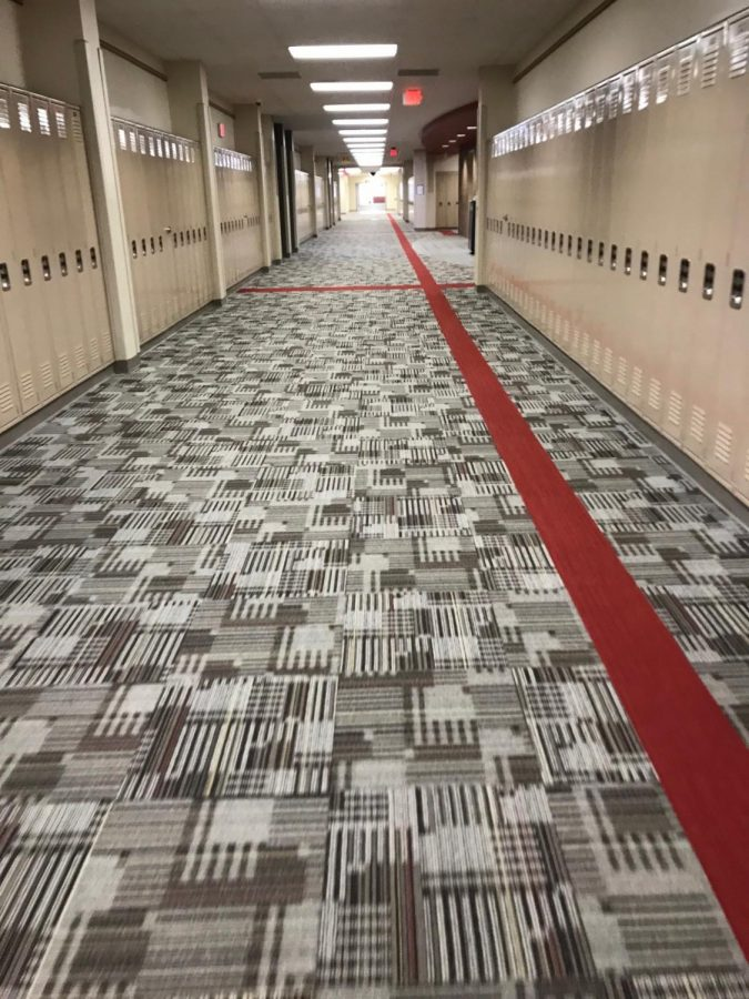 The upstairs B Hallway sees thousands of students pass through every day. After school, it is said to come to life with spirits.