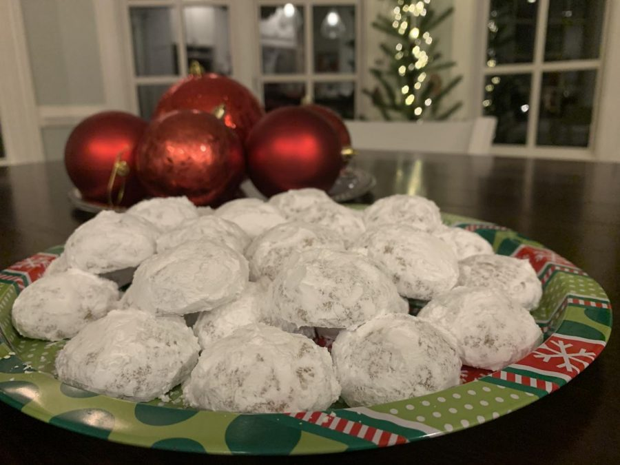 Freshman Elise Bryan makes pfeffernusse cookies with her family every Christmas.