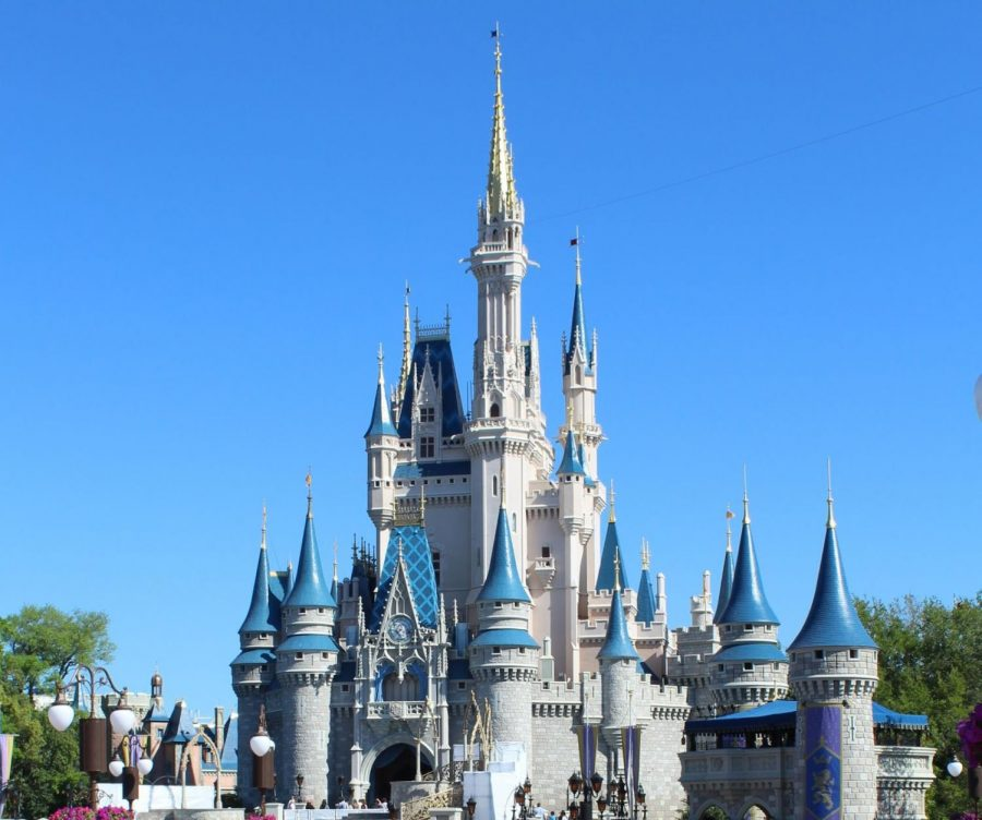 A picture of Cinderella's castle at Walt Disney World.