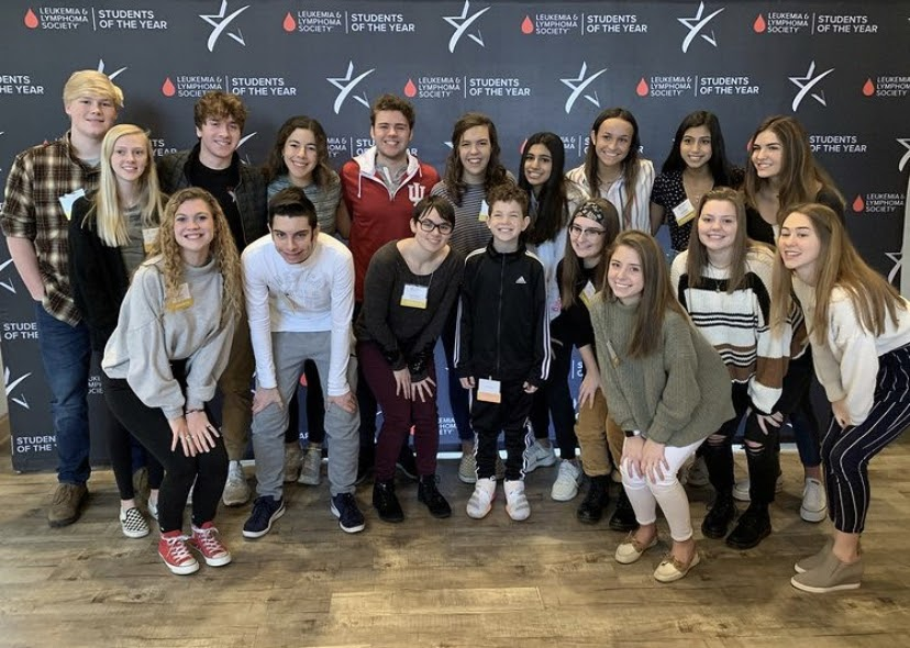 2020 Student of the Year candidates pose while at the Kickoff Breakfast on Jan. 31, 2020.