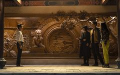 """Elements of Chinese culture are woven in throughout the set design, however all of the wooden """"carvings"""" seen throughout the film were actually made of foam."""